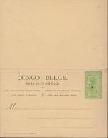BELGIAN CONGO PS 58  UNUSED - Postwaardestukken