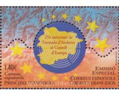 Ref. 619051 * MNH * - ANDORRA. Spanish Adm.. 2019. SPECIAL SPAIN-FRANCE - CONSELL D'EUROPA . ESPECIAL ESPAÑA-FRANCIA - Ungebraucht