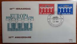 BELGIO 1984 FDC EUROPA - 1981-90