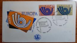 BELGIO 1973 FDC EUROPA - 1971-80