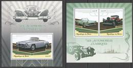 JA082 2019 CLASSIC AUTOMOBILES CARS TRANSPORT 1KB+1BL MNH - Auto's