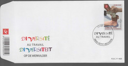 FDC :  Nr 3783  Stempel: 4800 Petit Rechain - 2001-10