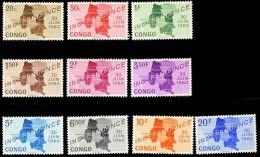 Congo Scott 356-65 (Indépendance) [**] - 1960-1964 Republiek Congo