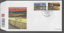 FDC :  Nr 3790/91  Stempel: 5570 Beauraing - 2001-10