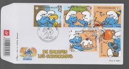 FDC :  Nr 3809/13  Stempel: 6900 Marche-en-Famenne - 2001-10