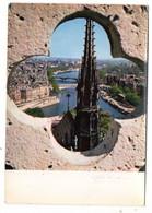 PARIS--1960--La Seine Et La Flèche De Notre-Dame D'après Photographe Albert  Monier.........à Saisir - Notre Dame Von Paris