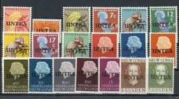 1962, UNO UNTEA, 1-19, ** - Ohne Zuordnung