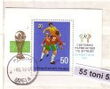 1978 Football World Cup – Argentina  S/S - Used/oblitere (O)  BULGARIA / Bulgarie - Blocks & Kleinbögen