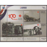 🚩 Discount - Paraguay 2019 The 100th Anniversary Of The Paraguayan Red Cross  (MNH)  - Cars, The Medicine, Aircr - Auto's