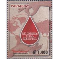 🚩 Discount - Paraguay 2019 World Hemophilia Day  (MNH)  - The Medicine - Médecine