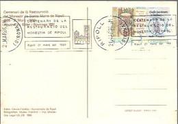 MATASELLOS  1986  RIPOLL - 1981-90 Storia Postale
