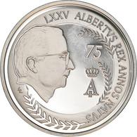 Belgique, 10 Euro, 75ème Anniversaire Du Roi, 2009, Bruxelles, Proof, SPL - Belgien
