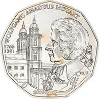 Autriche, 5 Euro, Mozart, 2006, SPL+, Argent, KM:3131 - Autriche
