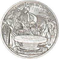 Autriche, 10 Euro, Charlemagne In The Undersberg, 2010, Vienna, SPL+, Argent - Autriche