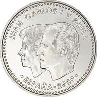 Espagne, 12 Euro, JUAN CARLOS I Y SOFIA, 2009, Madrid, SPL+, Argent, KM:1212 - Espagne