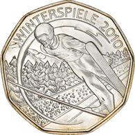 Autriche, Olympische Winterspiele, 5 Euro, 2010, Vienna, SPL, Argent, KM:3193 - Autriche