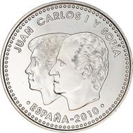 Espagne, 12 Euro, Spanish Presidency Of The EU, 2010, Madrid, SPL+, Argent - Espagne