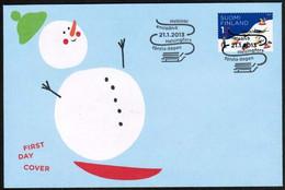 2013 Finland, Sleding FDC. - FDC