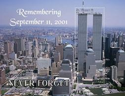 St. Vincent & The Grenadines 2021 20TH Memorial Anniversary Of September 11, 2001 - 9/11 Never Forget Sheetlet I202110 - St.Vincent Und Die Grenadinen