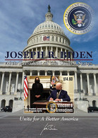 St. Vincent & The Grenadines 2021 46TH PRESIDENT OF THE UNITED STATES: JOSEPH R. BIDEN SHEETLET I202110 - St.Vincent Und Die Grenadinen