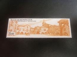 Monpazier - Bastide - 3f.90 - Ocre-jaune Et Noir - Neuf Sans Charnière - Année 1986 - - Ungebraucht
