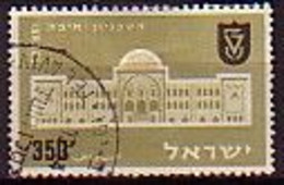 ISRAEL - 1956 - 30ans De L'Institute Technologi D'Haifa - 350 P Obl. Sans Tabs - Yv 109 - Gebraucht (ohne Tabs)