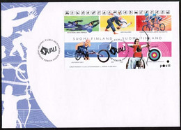 2012 Finland, Disable Sports FDC. - FDC