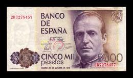España Spain 5000 Pesetas 1979 Pick 160 Serie 2R MBC VF - [ 4] 1975-… : Juan Carlos I