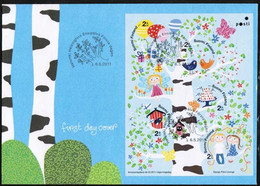 2011 Finland, Tree Of Happiness FDC. - FDC
