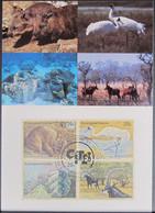 UNO NEW YORK 1993 Mi-Nr. 644/47 Maximumkarte MK/MC - Maximumkarten