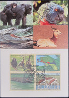 UNO NEW YORK 1994 Mi-Nr. 663/66 Maximumkarte MK/MC - Maximumkarten