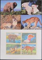 UNO NEW YORK 1997 Mi-Nr. 732/35 Maximumkarte MK/MC - Maximumkarten