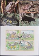 UNO NEW YORK 1998 Mi-Nr. 767/70 Maximumkarte MK/MC - Maximumkarten