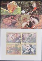 UNO NEW YORK 2001 Mi-Nr. 856/59 Maximumkarte MK/MC - Maximumkarten