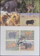 UNO NEW YORK 2004 Mi-Nr. 946/49 Maximumkarte MK/MC - Maximumkarten