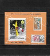 NIGER Nº HB 54 - Sommer 1988: Seoul