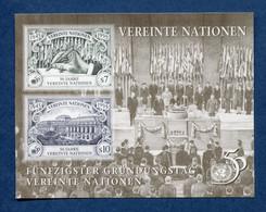 ⭐ Nations Unies - Vienne - YT Bloc N° 6 ** - Neuf Sans Charnière - 1995 ⭐ - Blocks & Kleinbögen