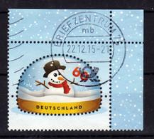 ALLEMAGNE Germany 2014 Noel Christmas Obl. - Gebraucht
