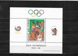 BURKINA  FASO Nº HB 35 - Sommer 1988: Seoul