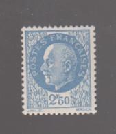 FRANCE / 1941 / Y&T N° 520 ** : Pétain 2F50 Bleu X 1 - Gebraucht
