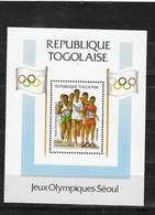 REPUBLICA DE TOGOLASE HB 266 - Sommer 1988: Seoul