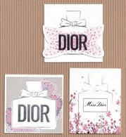 CC Cartes Parfumée 'LOT #1 Perfume Cards [3 Pieces] - Modernes (à Partir De 1961)