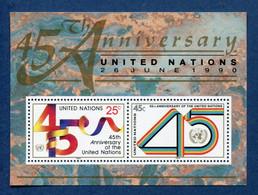 ⭐ Nations Unies - New York - YT Bloc N° 11 ** - Neuf Sans Charnière - 1990 ⭐ - Blocks & Kleinbögen