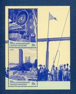 ⭐ Nations Unies - New York - YT Bloc N° 19 ** - Neuf Sans Charnière - 2000 ⭐ - Blocks & Kleinbögen