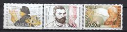 Bulgaria 2000 - Famous Bulgarian Personalities, Mi-Nr. 4450/52, MNH** - Ungebraucht