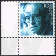[C0702] Alemania 2000, X Aniversario Nacimiento De Herbert Wehner (MNH) - Ungebraucht