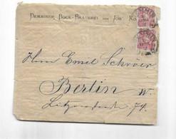Brief Aus Demmin Nach Berlin 1877 - Brieven En Documenten