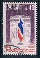1973 Arc De Triomphe Eternal Flame YT 1777 - Gebraucht