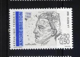 France 2682 Neuf ** (André Breton)   - Cote 1,30€ - Ungebraucht