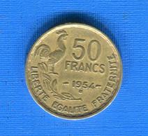 50  Fr  1954 B - M. 50 Francs